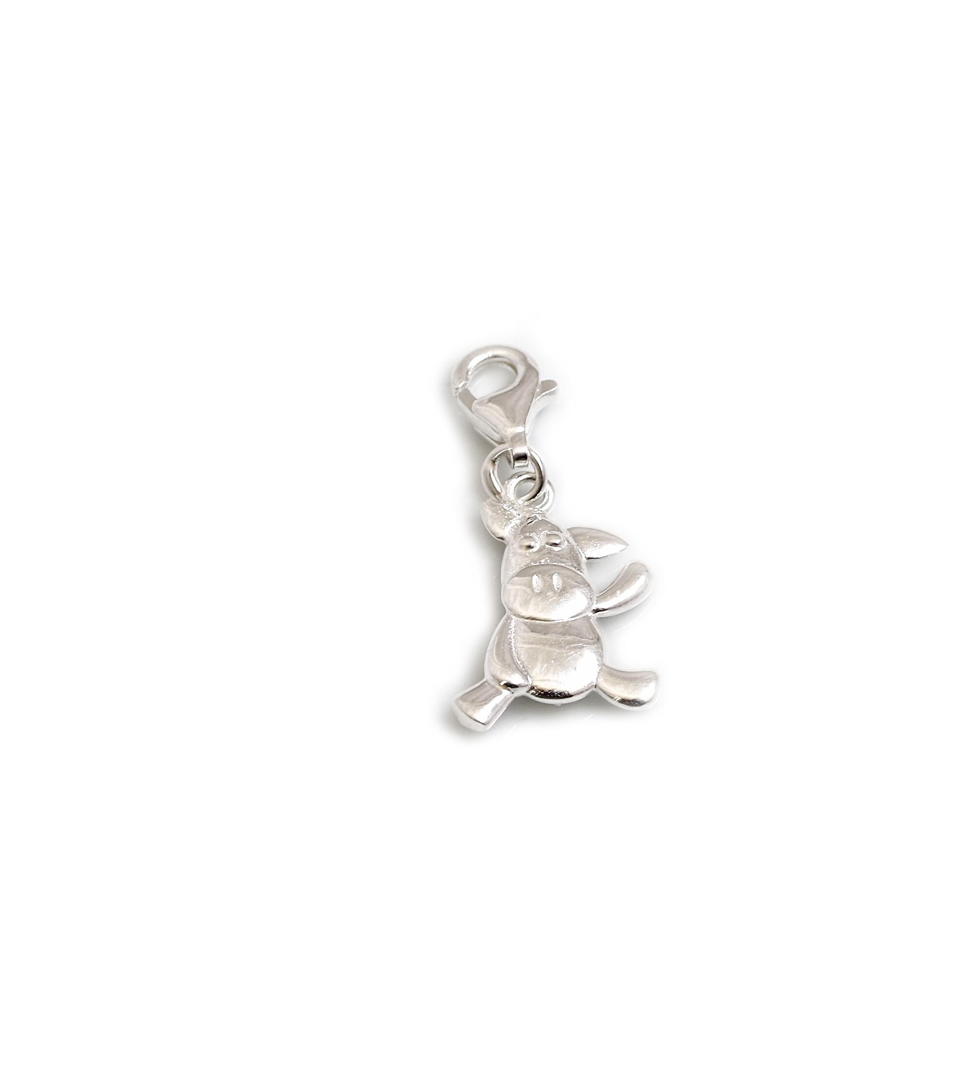 sterling charms hand jewellery stamped silver initial with clasps small charm