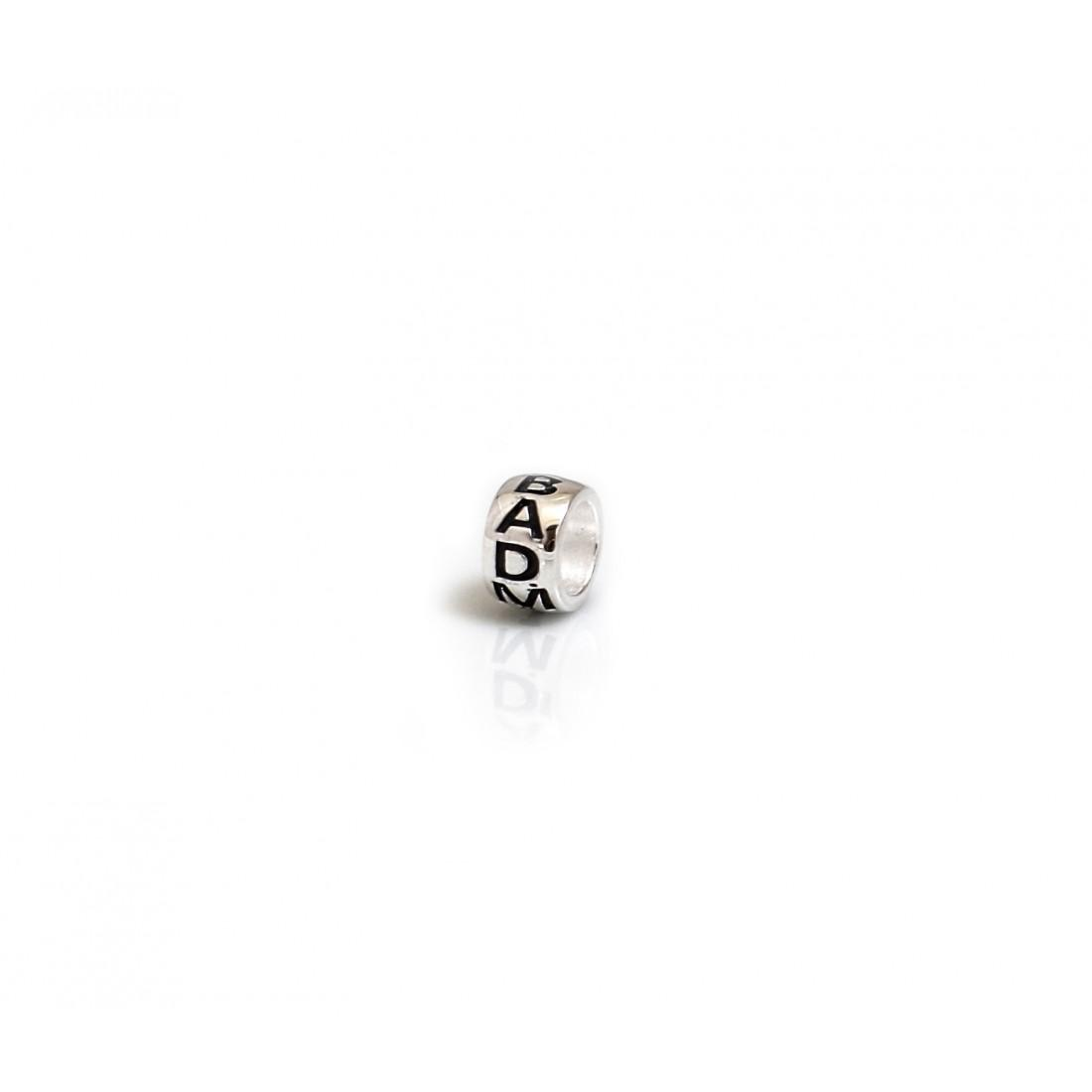 Limited Edition Exclusive Sterling Silver Badminton Roller Bead