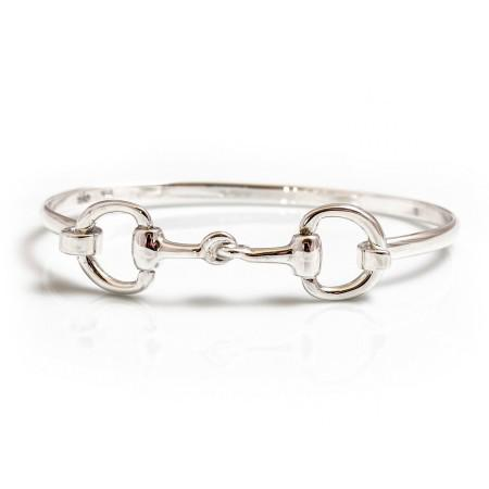 Exclusive Sterling Silver Double Snaffle Bracelet