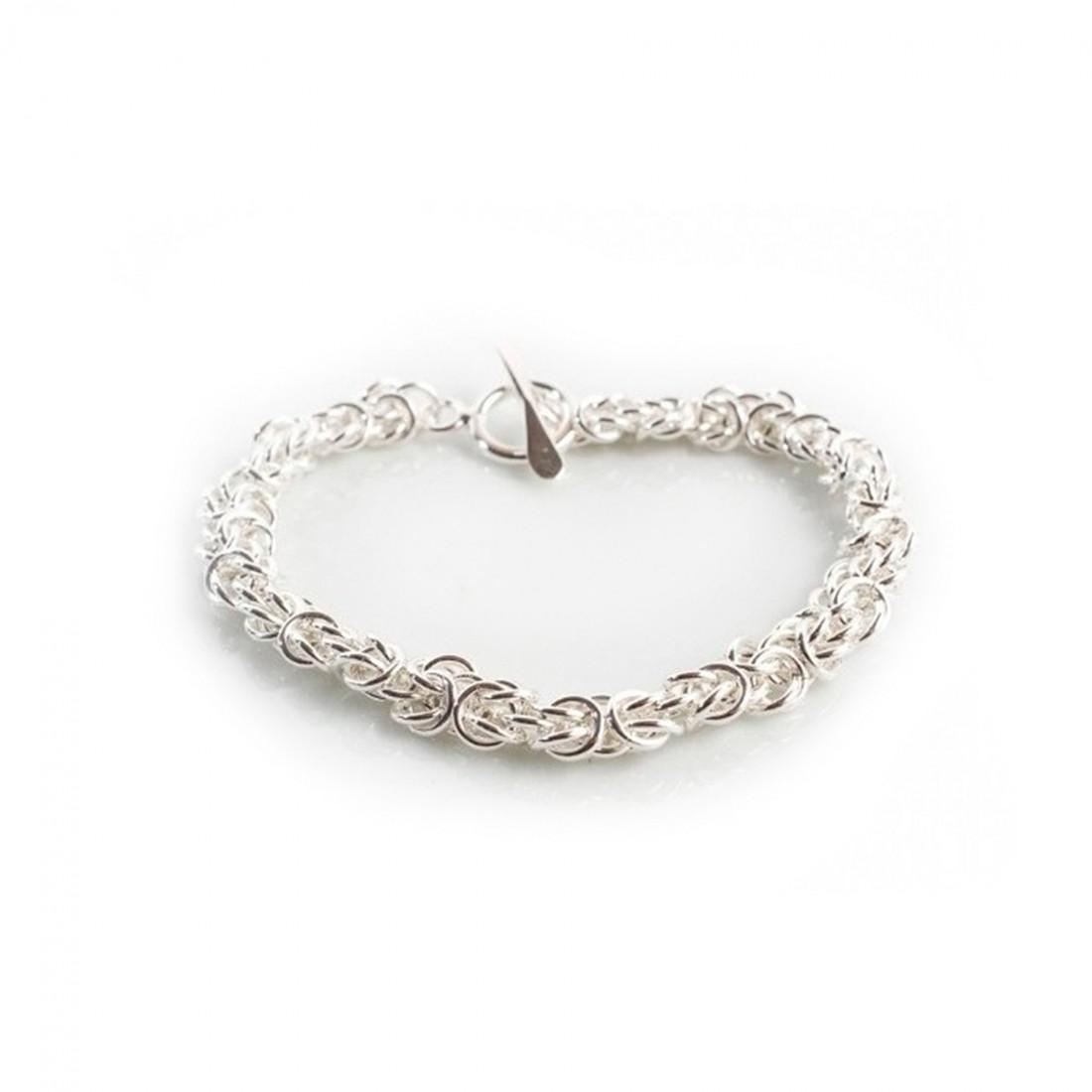 Sterling Silver Florentine Bracelet