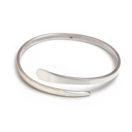Sterling Silver Wrap Bangle