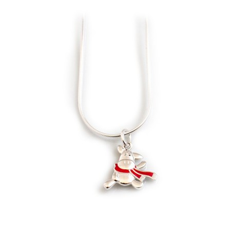 Exclusive Sterling Silver Willberry Wonder Pony Pendant With Silver Chain
