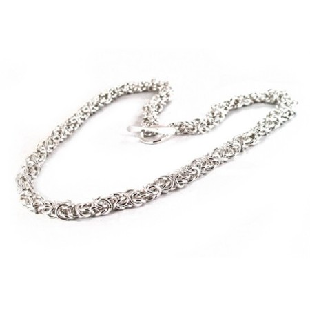 Sterling Silver Florentine Necklace
