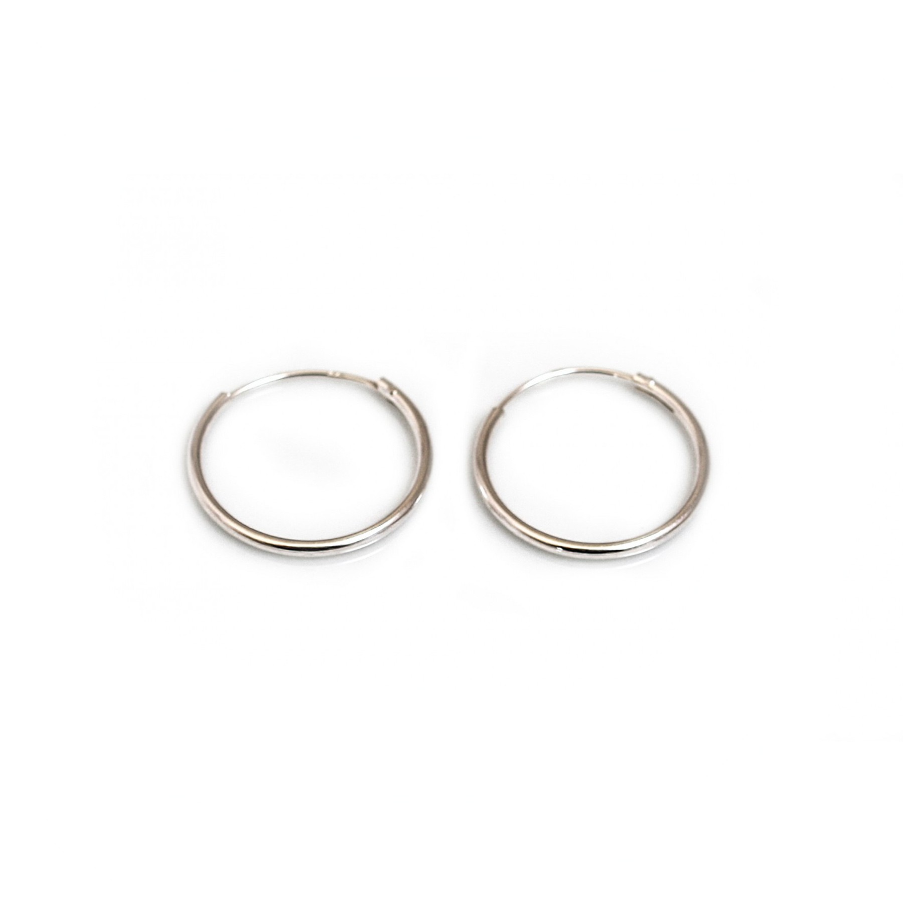 earrings jewelry jewellery bling silver sterling hoop round earring ms