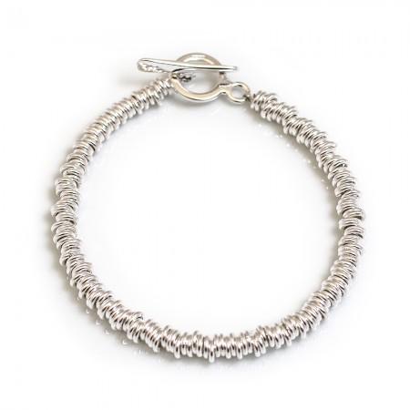 Sterling Silver Multi-link Bracelet