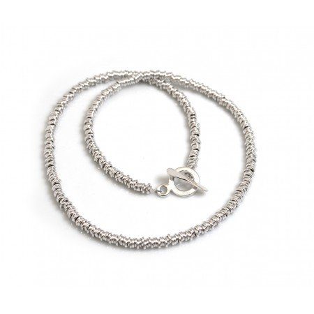 Sterling Silver Multi-link Necklace