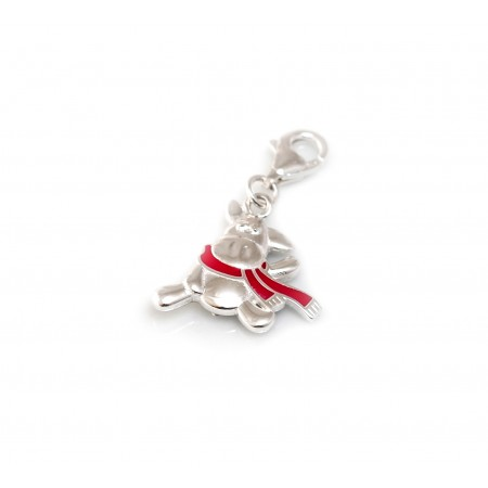 Exclusive Sterling Silver Special Edition Willberry Wonder Pony Charm With Lobster Clip