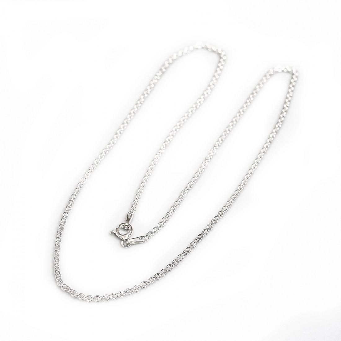 Fine Sterling Silver Trace Chain
