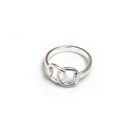 Sterling Silver Snaffle Ring