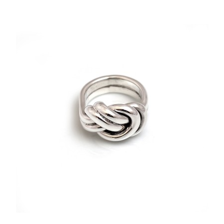 Sterling Silver Chunky Knot Ring