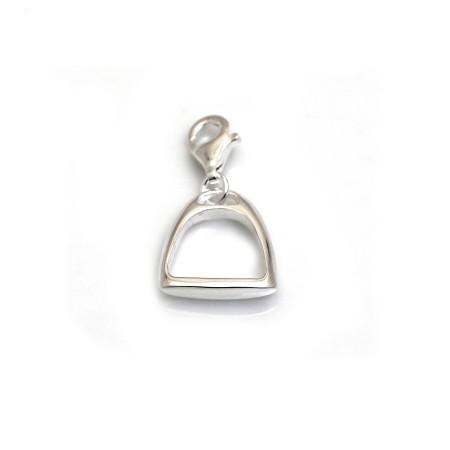 Sterling Silver Stirrup Charm