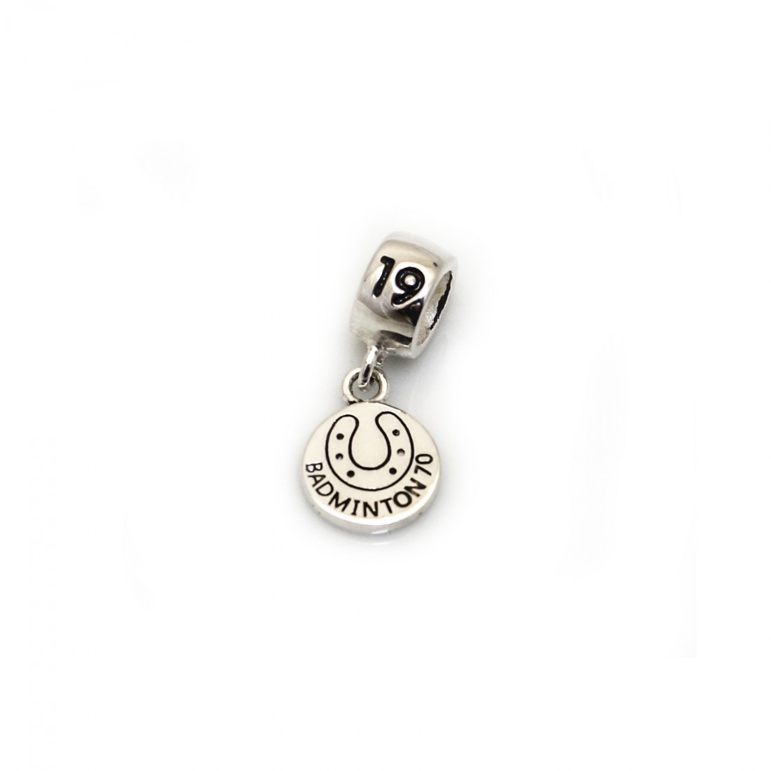 Limited Edition Exclusive Sterling Silver Badminton 2019 Roller Charm