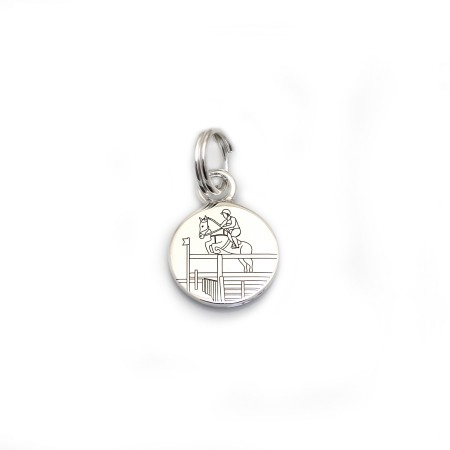 Limited Edition Exclusive Sterling Silver Vicarage V Charm