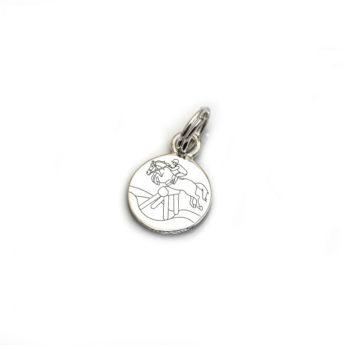 Limited Edition Exclusive Sterling Silver Stockholm Jump Charm