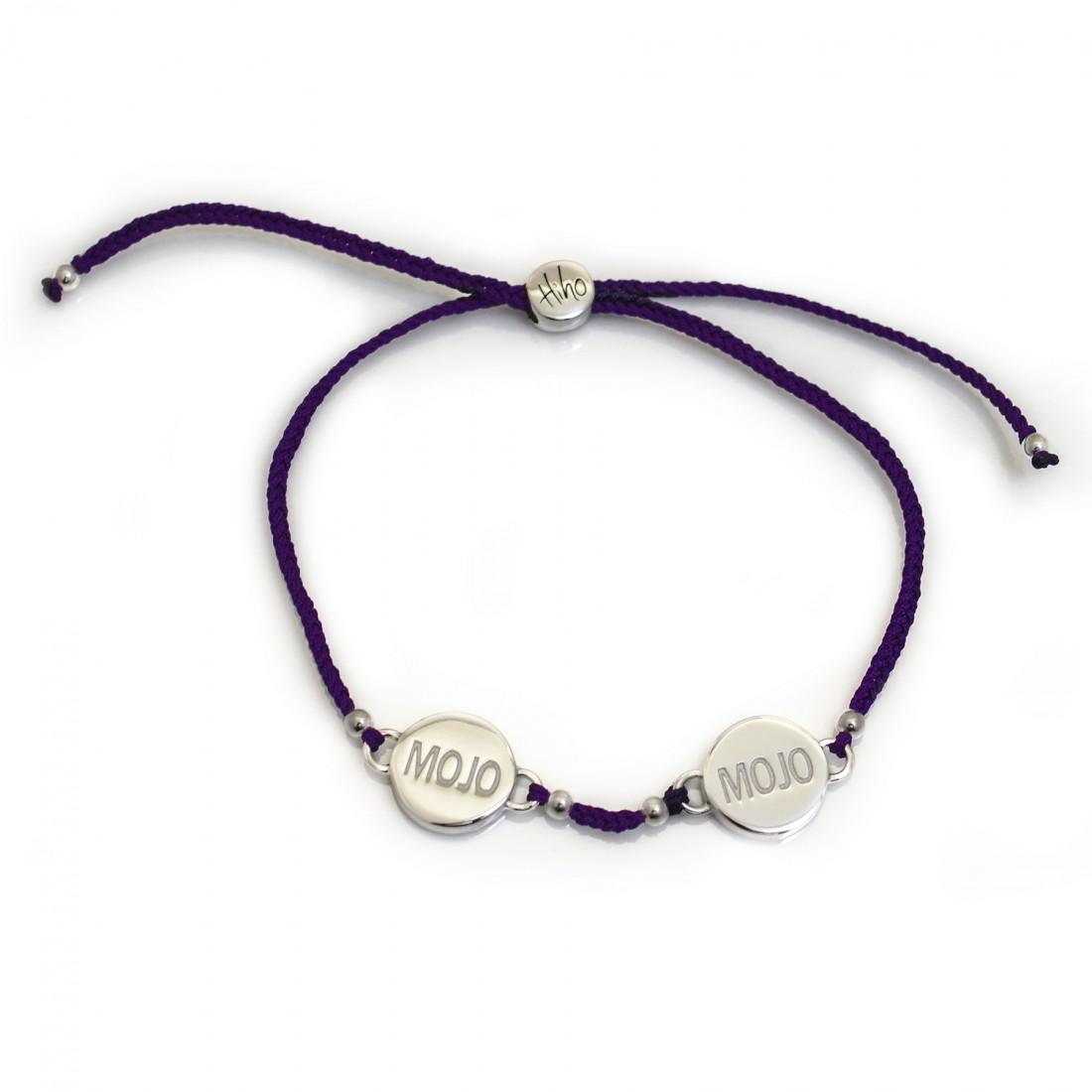Exclusive Sterling Silver Double Mojo Friendship Bracelet