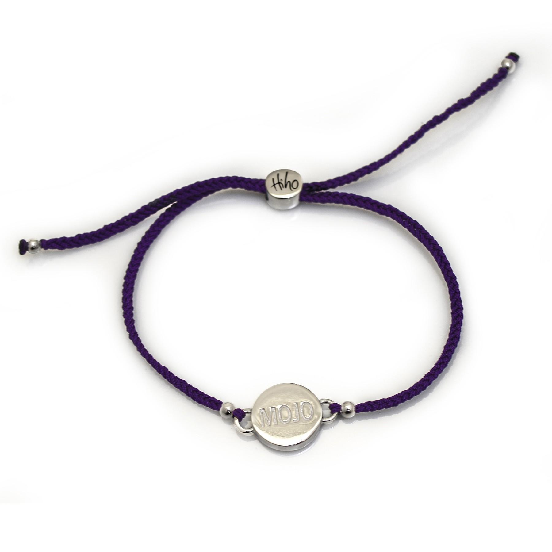 079f45344 Exclusive Sterling Silver Single Mojo Friendship Bracelet - Hiho Silver