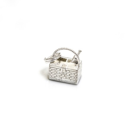 Limited Edition Sterling Silver Picnic Basket Charm