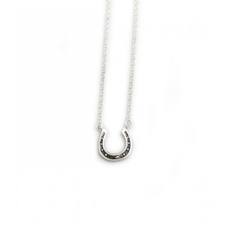 Exclusive Sterling Silver Thelwell Horseshoe Necklace - Norman Thelwell Collection