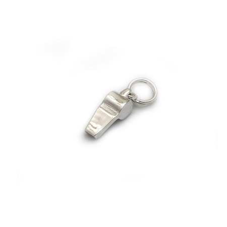 Limited Edition Sterling Silver Whistle Charm