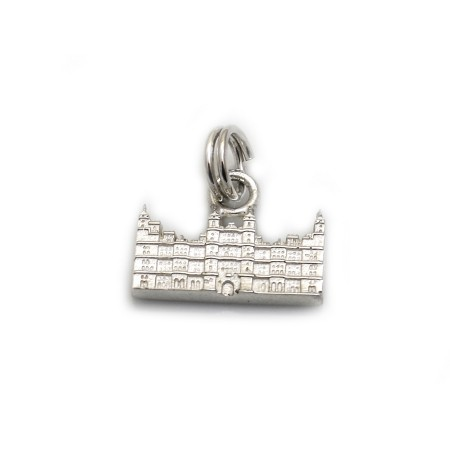 Limited Edition Sterling Silver Burghley House Charm