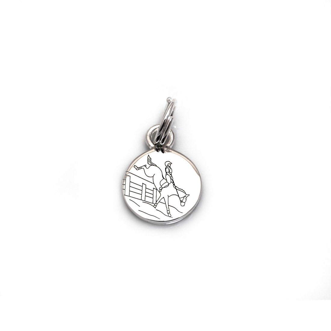 Limited Edition Sterling Silver Leaf Pit Jump Charm