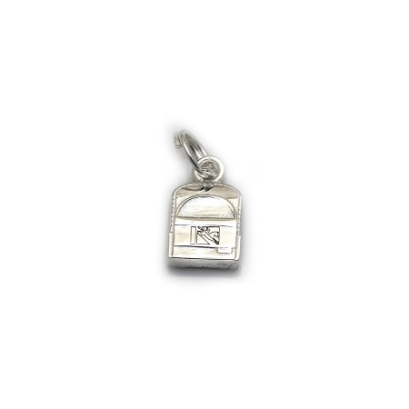 Limited Edition Sterling Silver Back Pack Charm