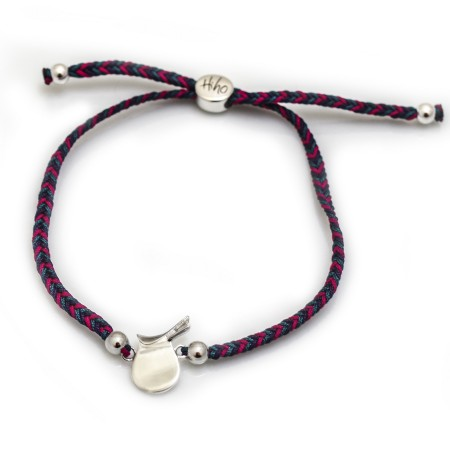 Exclusive Sterling Silver saddle Friendship Bracelet