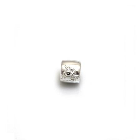 Exclusive Sterling Silver Willbery Wonder Pony Roller Charm Bead