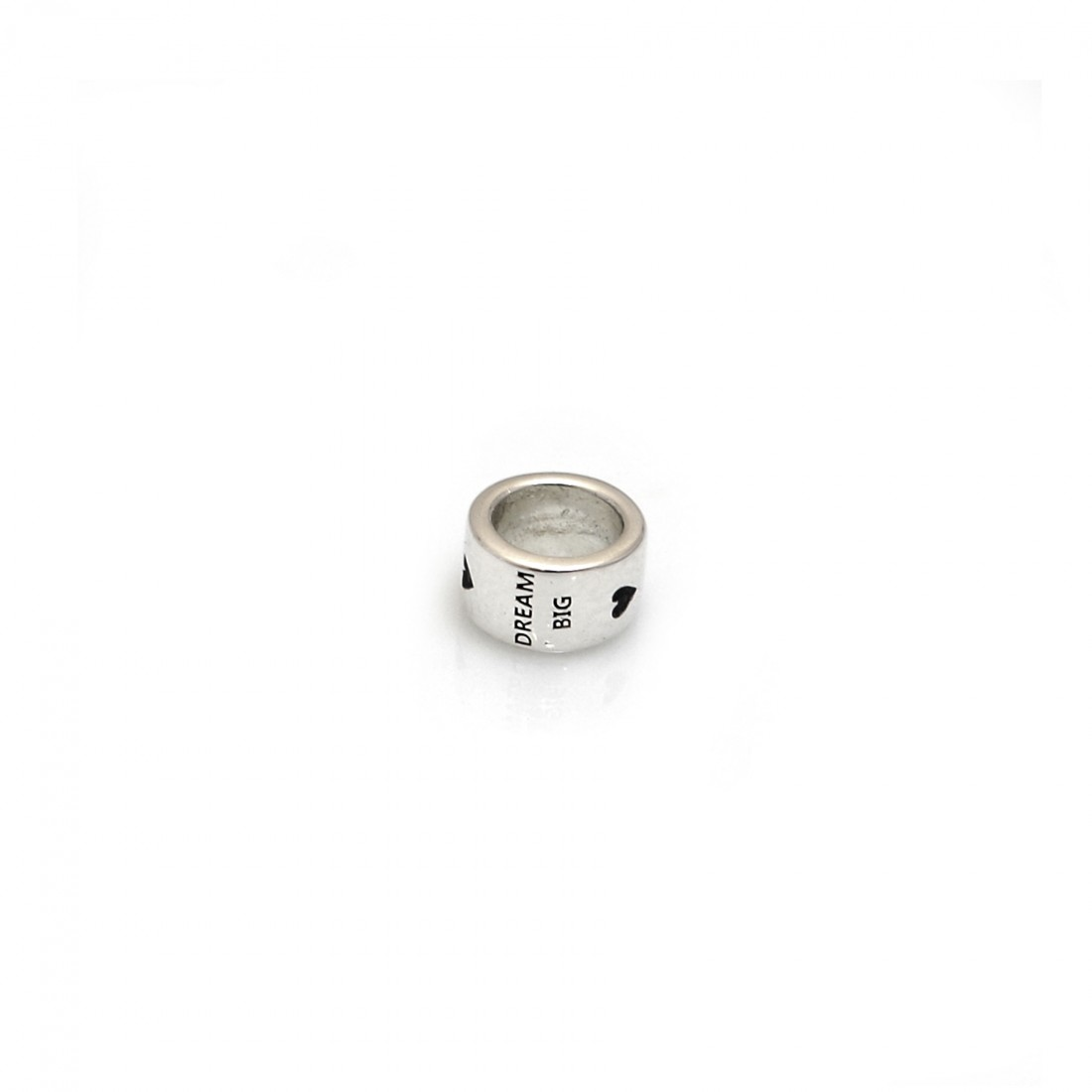 Exclusive Sterling Silver Willberry Wonder Pony Dream Big, Fight Hard, Never Give Up Roller Charm Bead