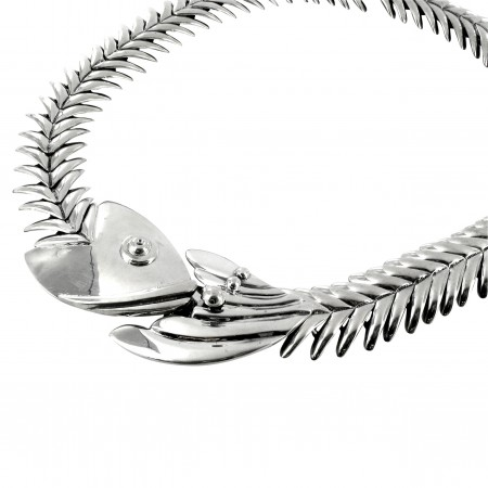 Sterling Silver Fish Necklace