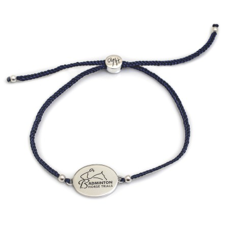 Exclusive Sterling Silver Badminton Horse Trials Friendship Bracelet