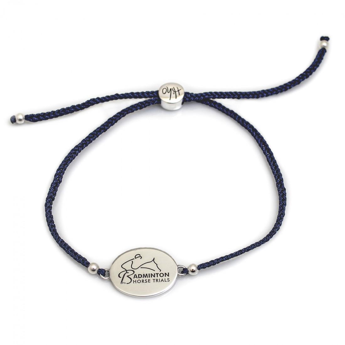 Exclusive Sterling Silver Badminton Horse Trials Friendship Bracelet