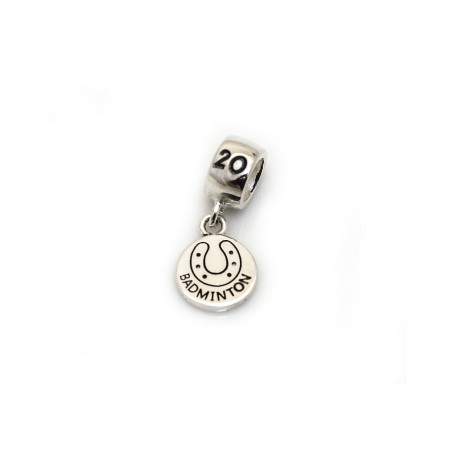 Limited Edition Exclusive Sterling Silver Badminton 2020 Roller Charm