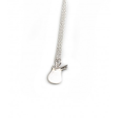 Exclusive Sterling Silver Thelwell Saddle Necklace