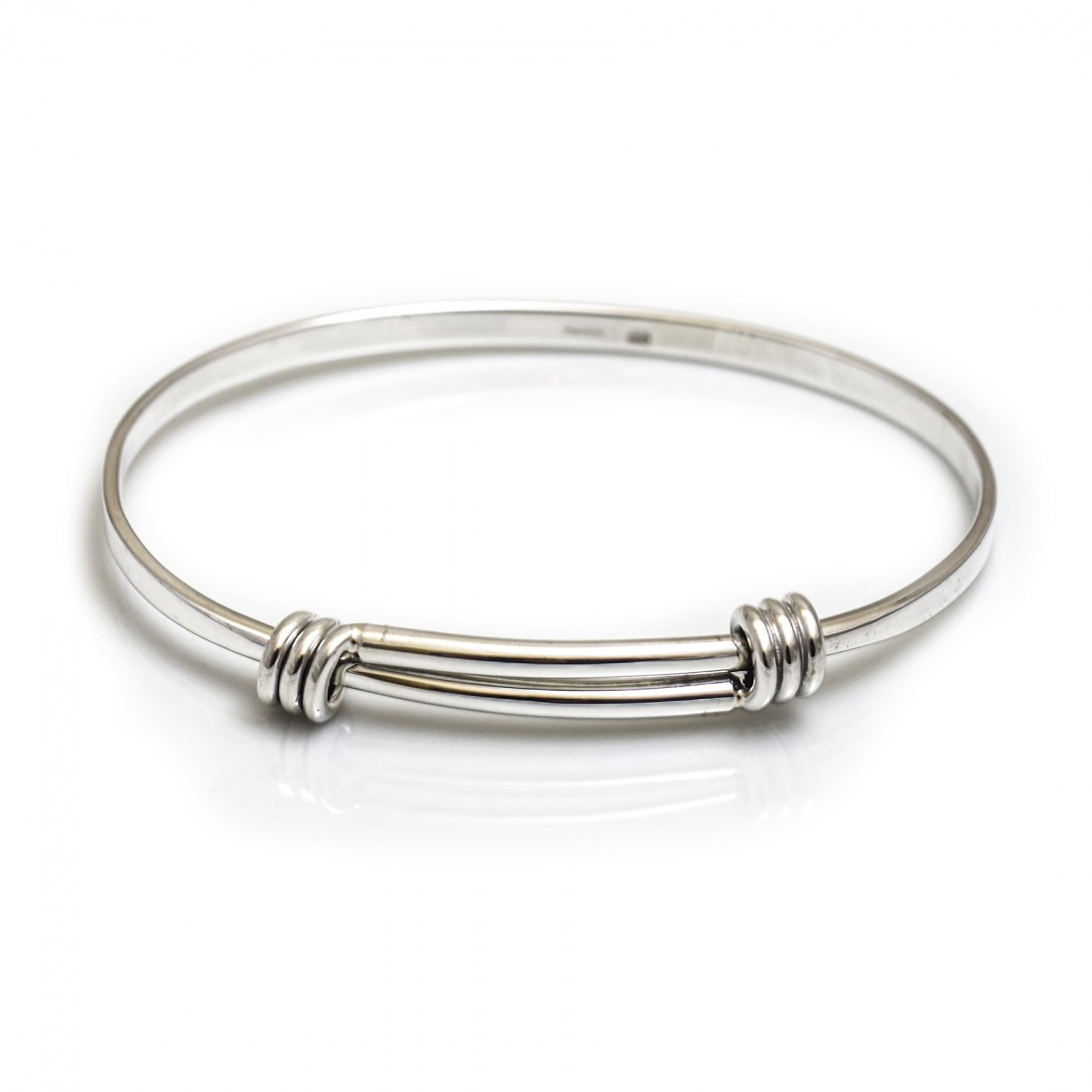 Sterling Silver Springy Bangle