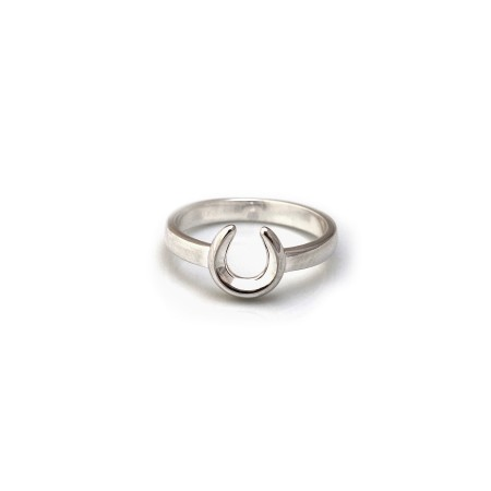Exclusive Sterling Silver Horseshoe Ring