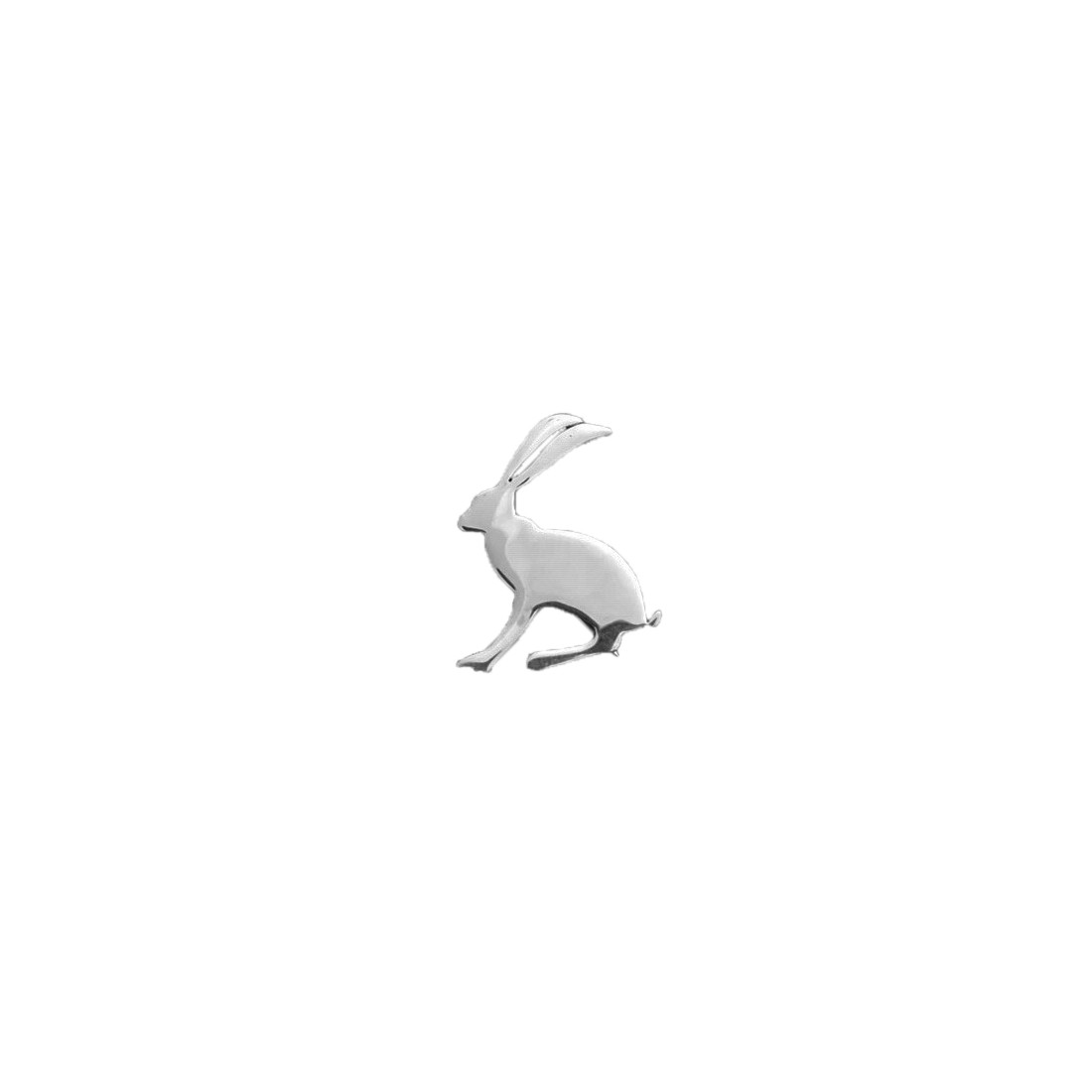 Exclusive Sterling Silver Joules Hare Brooch