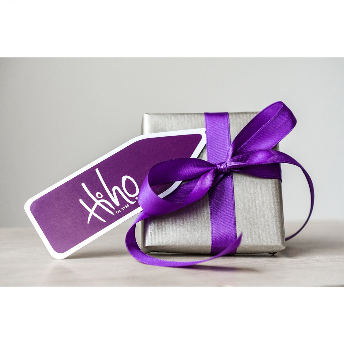 Gift wrapped and bow
