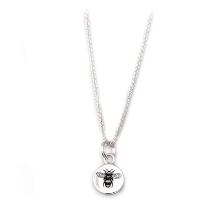 Exclusive Hiho & Co Day 'Be All You Can Be..' Sterling Silver Bee Necklace