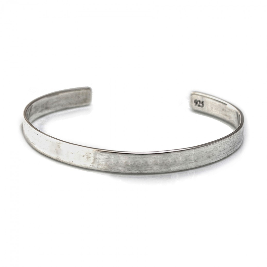 Sterling Silver Engravable Cuff Bracelet