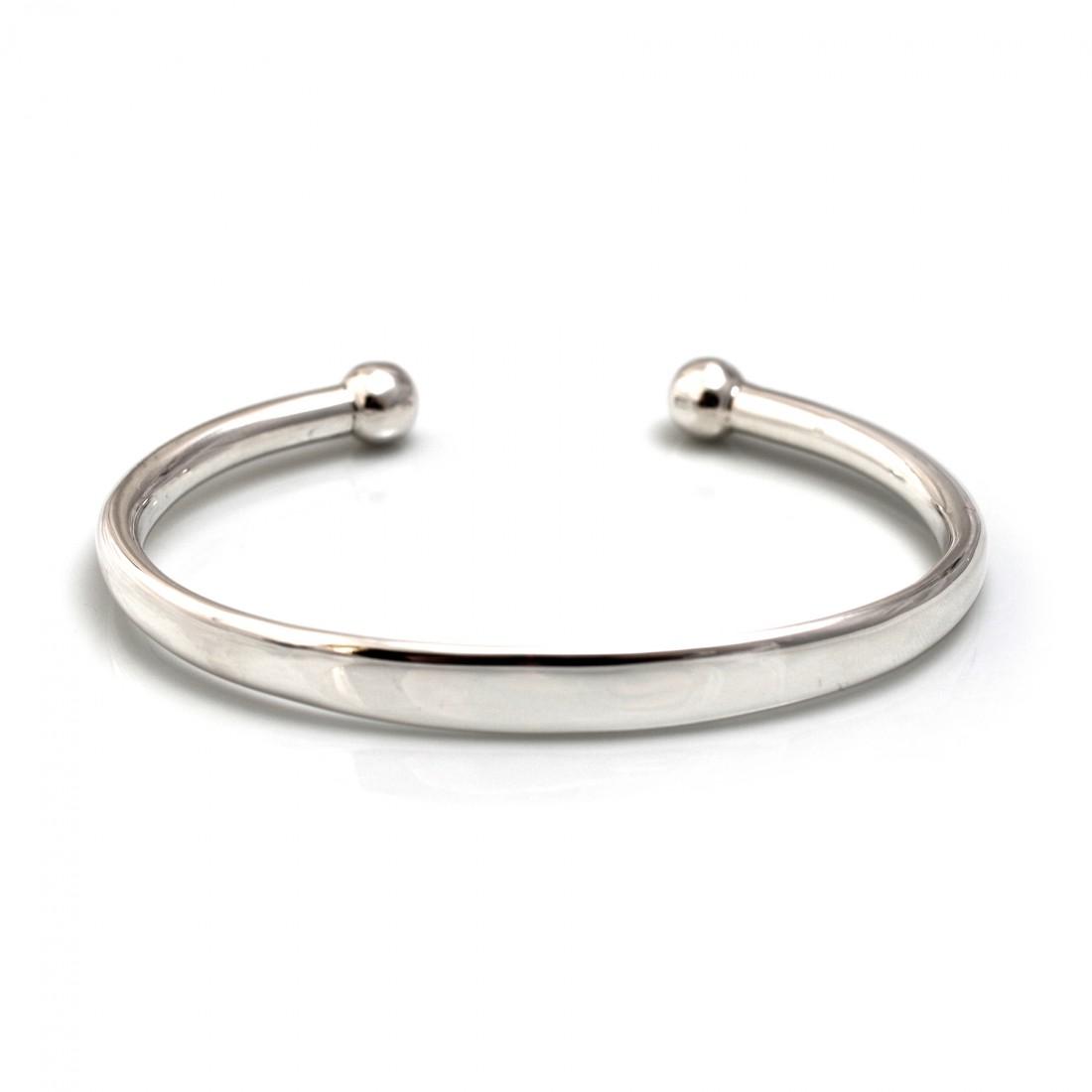 Mens Sterling Silver Cuff Bracelet