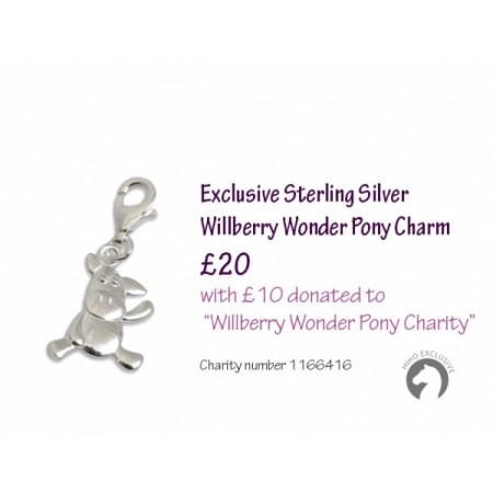 Exclusive Sterling Silver Willberry Wonder Pony Charm