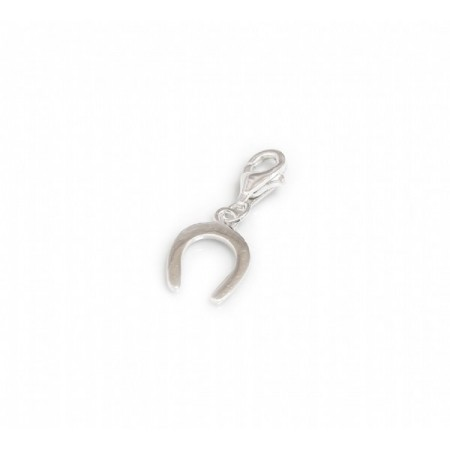 Exclusive Sterling Silver Horseshoe Charm - Equestrian Jewellery