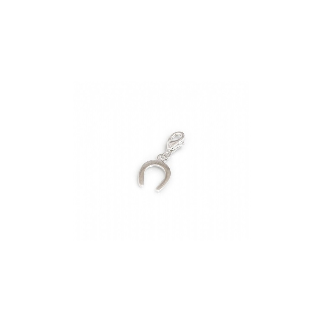Exclusive Sterling Silver Horseshoe Charm