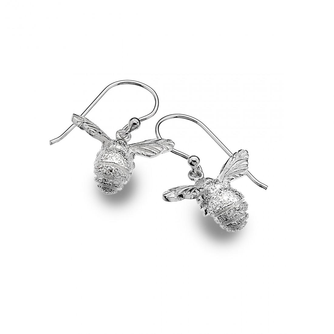 Sterling Silver Bumblee Earrings