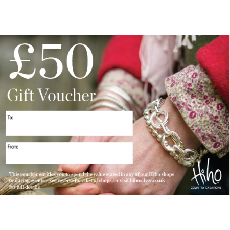£50 Gift voucher - redeemable in stores
