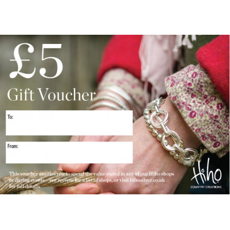 £5 Gift voucher - redeemable in stores