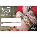 £5 Gift voucher - redeemable in stores