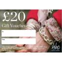£20 Gift voucher - redeemable in stores