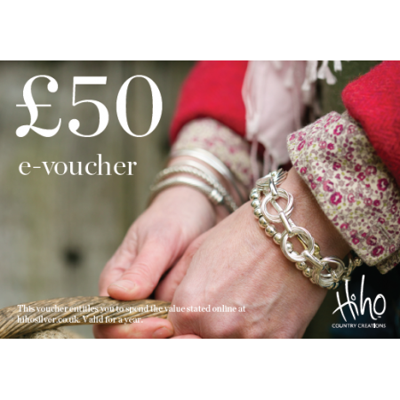 £50 e-voucher - redeemable online